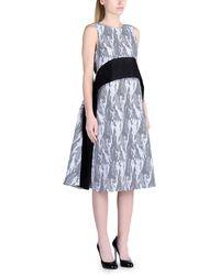 Antonio Berardi 3/4 Length Dress - Lyst