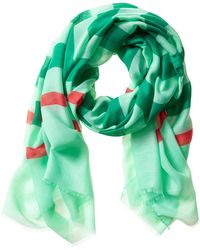 Banana Republic Olive Scarf Florida Green - Lyst