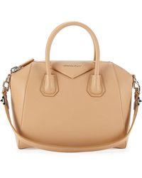Givenchy Antigona Small Sugar Satchel Bag Light Beige - Lyst