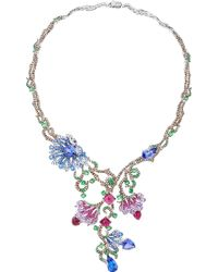 Wendy Yue - Floral Collar Necklace - Lyst
