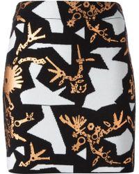 Kenzo 'Monster Graphics' Skirt - Lyst