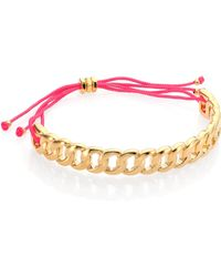 Marc By Marc Jacobs Solidly Linked Friendship Bracelet - Lyst