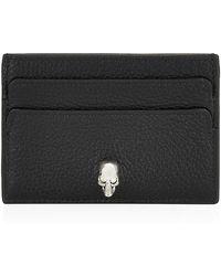 Alexander McQueen Skull Card Holder - Lyst