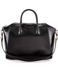Givenchy Antigona Medium Leather Satchel Bag - Lyst