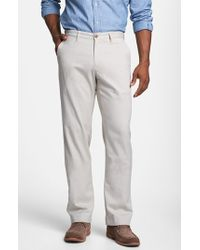 Tommy Bahama | 'bryant' Flat Front Pants | Lyst