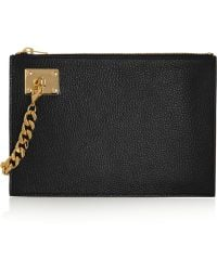 Sophie Hulme - Texturedleather Pouch - Lyst