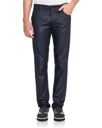 Fendi | Monster Patch Coated Jeans | Lyst