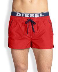 DIESEL   Barrerly Swim Shorts   Lyst