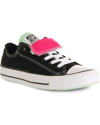 Converse All Star Low-top Double-tongue Trainers - Lyst