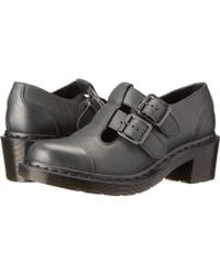 Dr. Martens Ivy Double Strap T-bar - Lyst