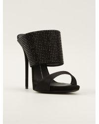 Giuseppe Zanotti Double Strap Sandals - Lyst