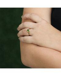 Tamara Comolli - Small Peridot Bouton Ring - Lyst