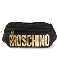 Moschino Quilted Fanny Pack - Lyst