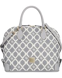Dooney & Bourke Sanibel Zip Zip Satchel - Lyst