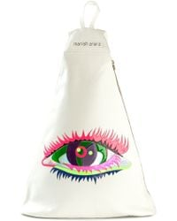 Manish Arora Eye Patchwork Backpack - Lyst