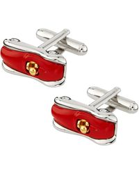 Link Up Race Car Cuff Links - Lyst