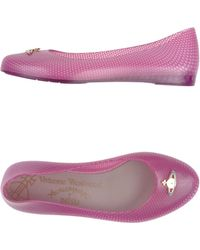 Vivienne Westwood Anglomania Ballet Flats - Lyst