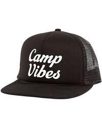 03c9f4aa471 Poler Stuff -  camp Vibes  Trucker Hat - Lyst