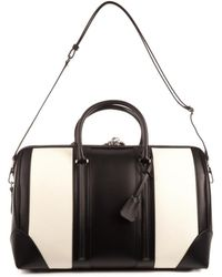Givenchy Bicolour Leather Weekend Bag - Lyst