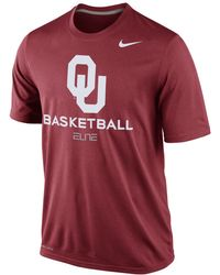 Nike Oklahoma Sooners Basketball Practice T-Shirt - Lyst