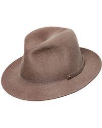 Barbisio - Foldable Lapin Fur Felt Hat - Lyst