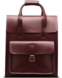 Dr. Martens - Large Leather Backpack - Lyst
