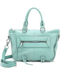 She + Lo - Mini Rise Above Satchel - Pool Blue - Lyst
