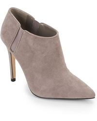 Ivanka Trump Sirra Suede Ankle Boots - Lyst