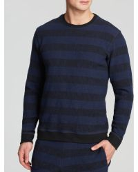 Lucio Castro | Striped Textured Sweater | Lyst