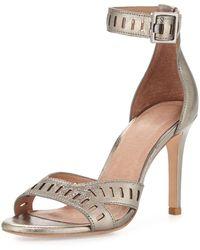 Joie Airlie Metallic Cutout Sandal - Lyst