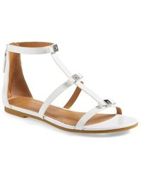 Marc By Marc Jacobs Cube Bow Leather Sandal - Lyst