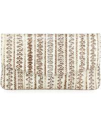 Armenta - Watersnake Flat Envelope Clutch Bag - Lyst