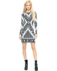 KTZ - Printed Dress - Black - Lyst