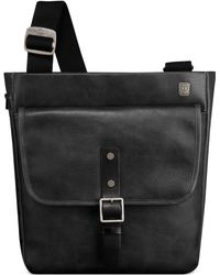 Tumi Ttech By Forge Leather Olympic Flap Brief - Lyst