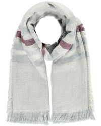 Forever 21 - Stripe-pattern Frayed Scarf You've Been Added To The Waitlist - Lyst