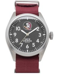 Jack Mason Brand - 'florida State Seminoles' Nato Strap Watch - Lyst