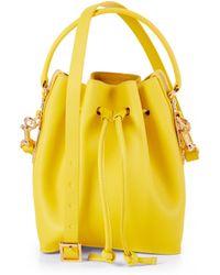 Sophie Hulme Small Bucket Bag - Lyst