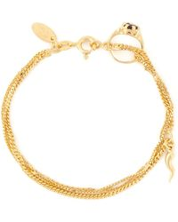 Puro Iosselliani - Garnet Ring Tangled Bracelet - Lyst