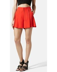 Topshop Women'S 'Cody' Culotte Shorts - Lyst