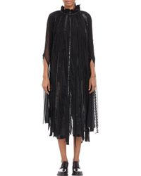 Junya Watanabe Tulle  Lace Pieced Tunic - Lyst