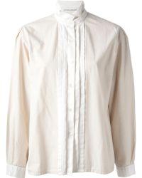 Guy Laroche - Stand-up Collar Shirt - Lyst