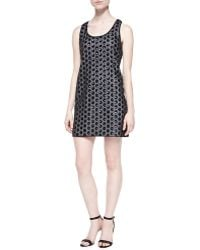 Shoshanna Kimberly Sequined Polka-Dot Dress - Lyst
