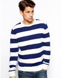 Brave Soul Striped Sweater - Lyst