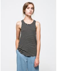 Which We Want Femme Tank black - Lyst
