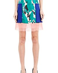 Capara - Ink Jet Print Pocket Skirt 11 - Lyst