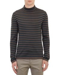 Marc Jacobs Stripepattern Pullover Turtleneck - Lyst
