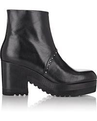 Thakoon Addition Studded Platform Ankle Boots