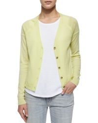 J Brand - Gia Cashmere Button-front Cardigan - Lyst
