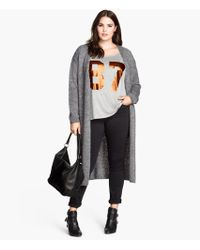 H&M Cardigan in A Wool Mix - Lyst