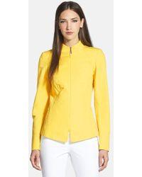 Lafayette 148 New York Doris Marcella Cloth Jacket - Lyst